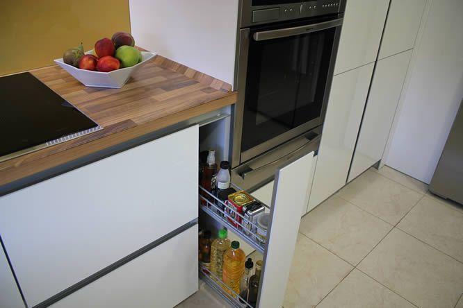cocinas Diseño de cocinas en Mostoles rey gola encimera emboquillada ...