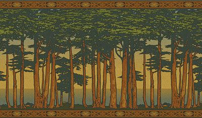New Old Wallpaper Art Nouveau WallpaperWallpaper ArtWallpaper BordersFabric