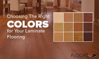 Choosing the right colors for your laminate flooring can be a more difficult and challenging task than first imagined, so following these three steps is a recommended and trusted method for getting your perfect laminate flooring.
