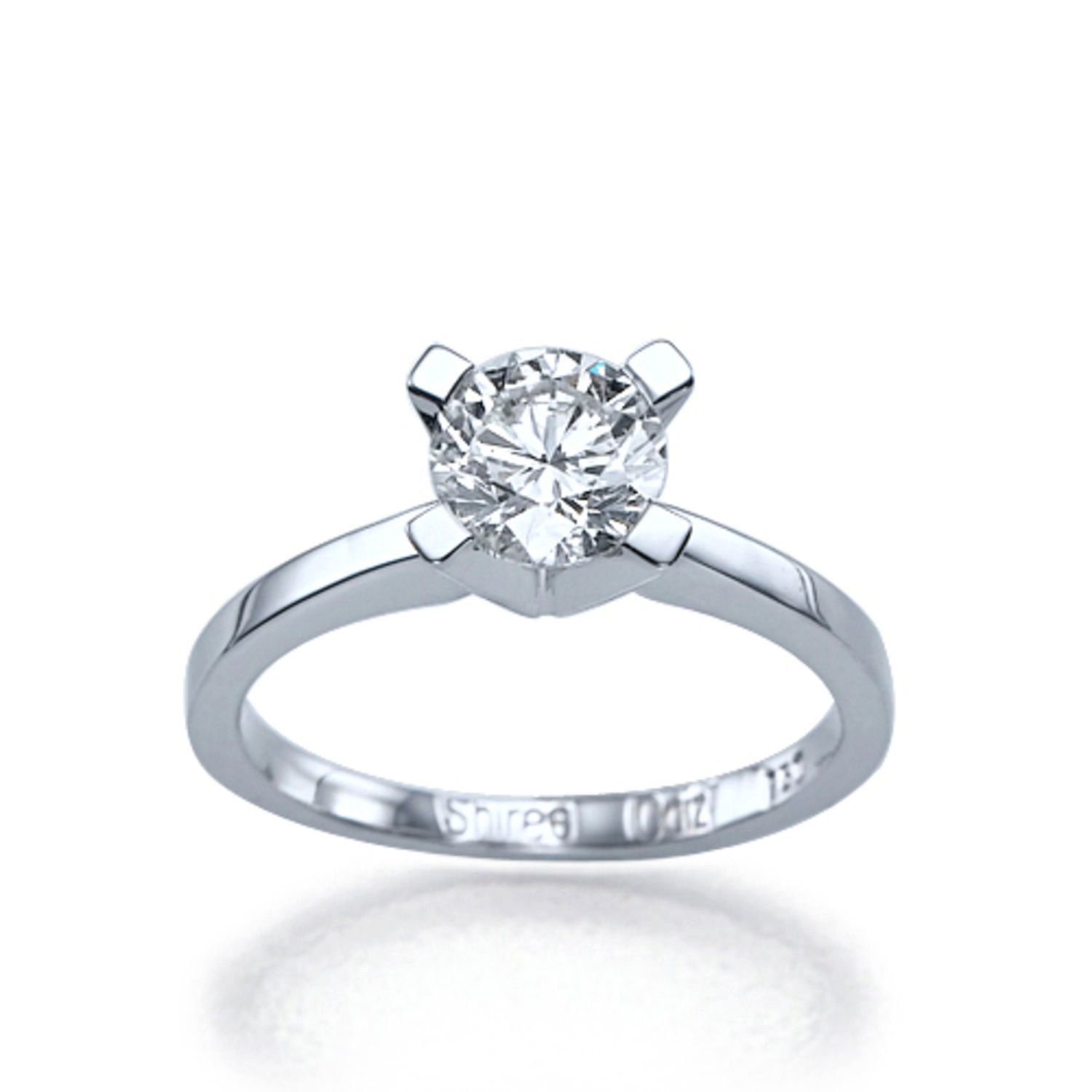 New To Shireeodiz On Etsy: Solitaire Engagement Ring 950