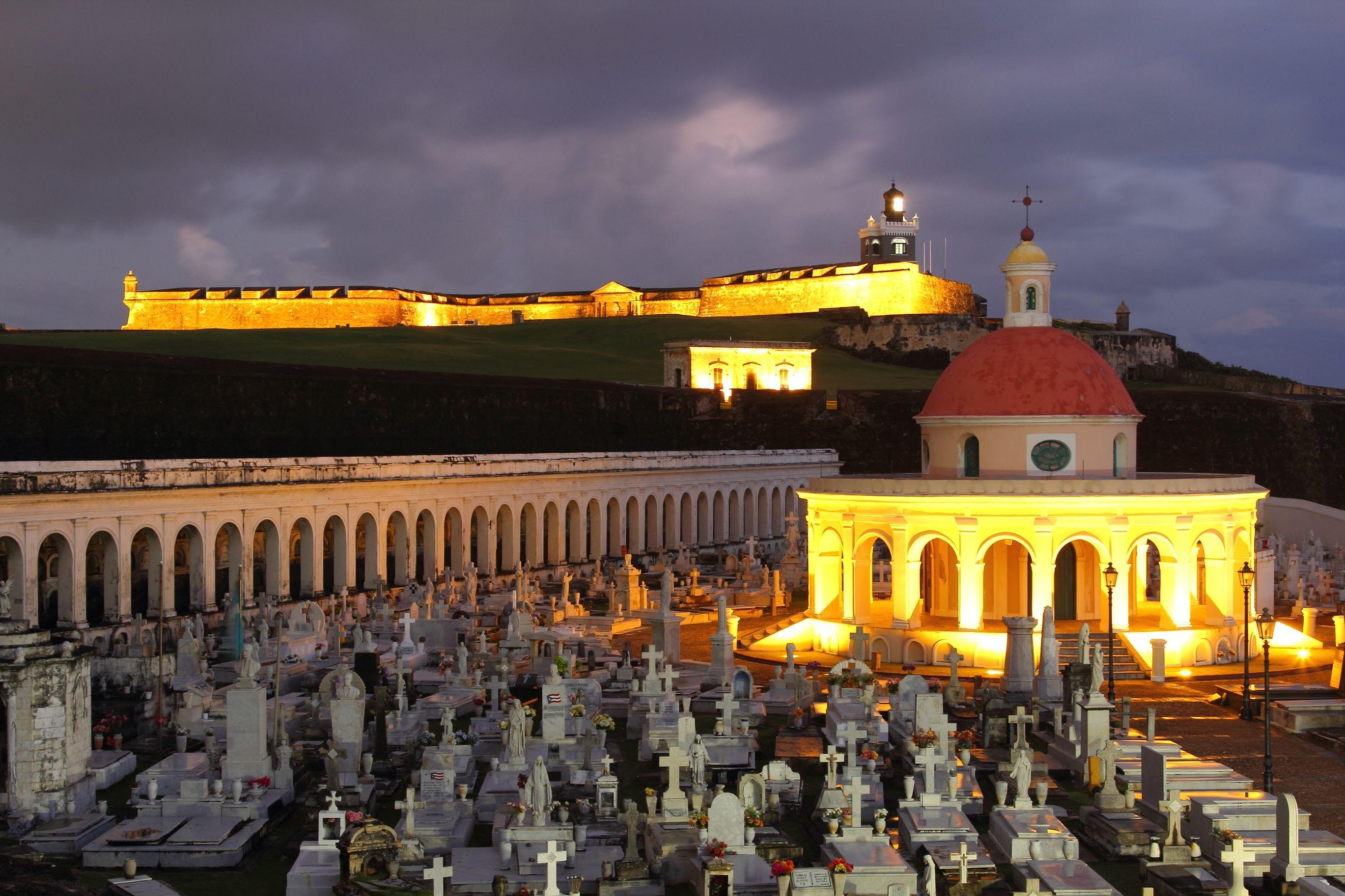 Castillo San Felipe del Morro and Santa Maria Magdalena