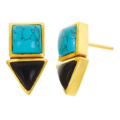 Turquoise and Black Onyx