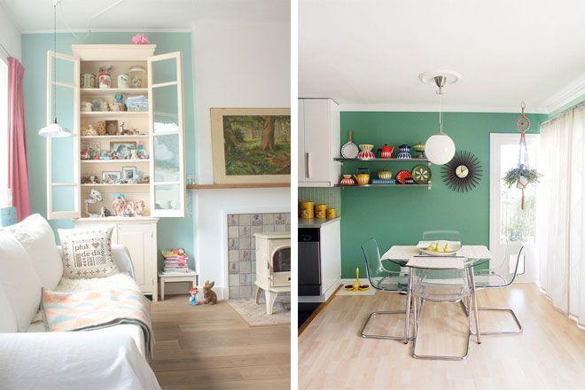 Decoración interior - Salón Comedor paredes | Salón- comedor ...