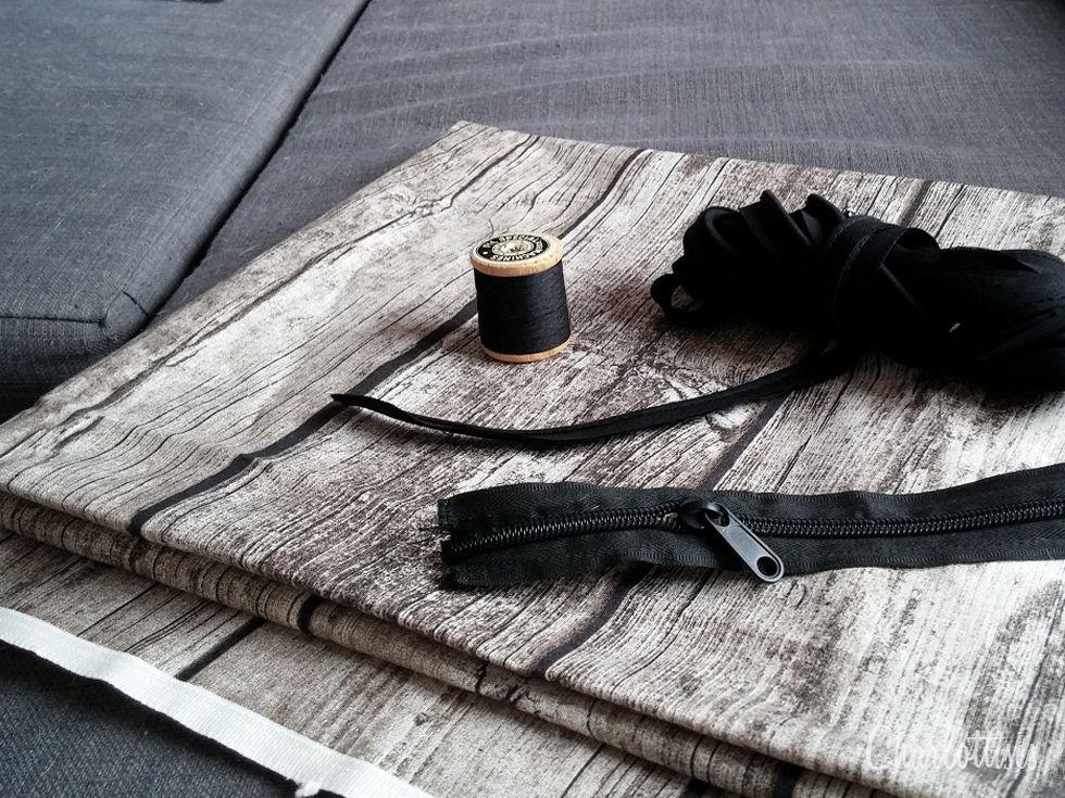 diy couture tuto comment coudre un coussin pour son chien ou son chat chien pinterest. Black Bedroom Furniture Sets. Home Design Ideas