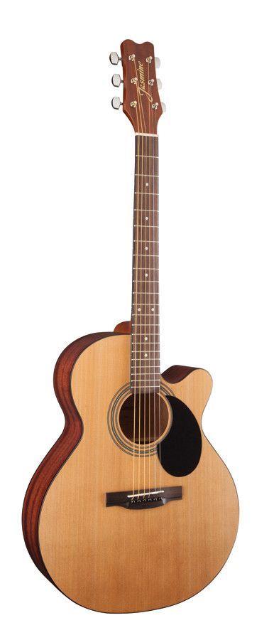 Jasmine S34c Cutaway Acoustic Guitar Natural Guitar Acoustic Guitar Acoustic Electric