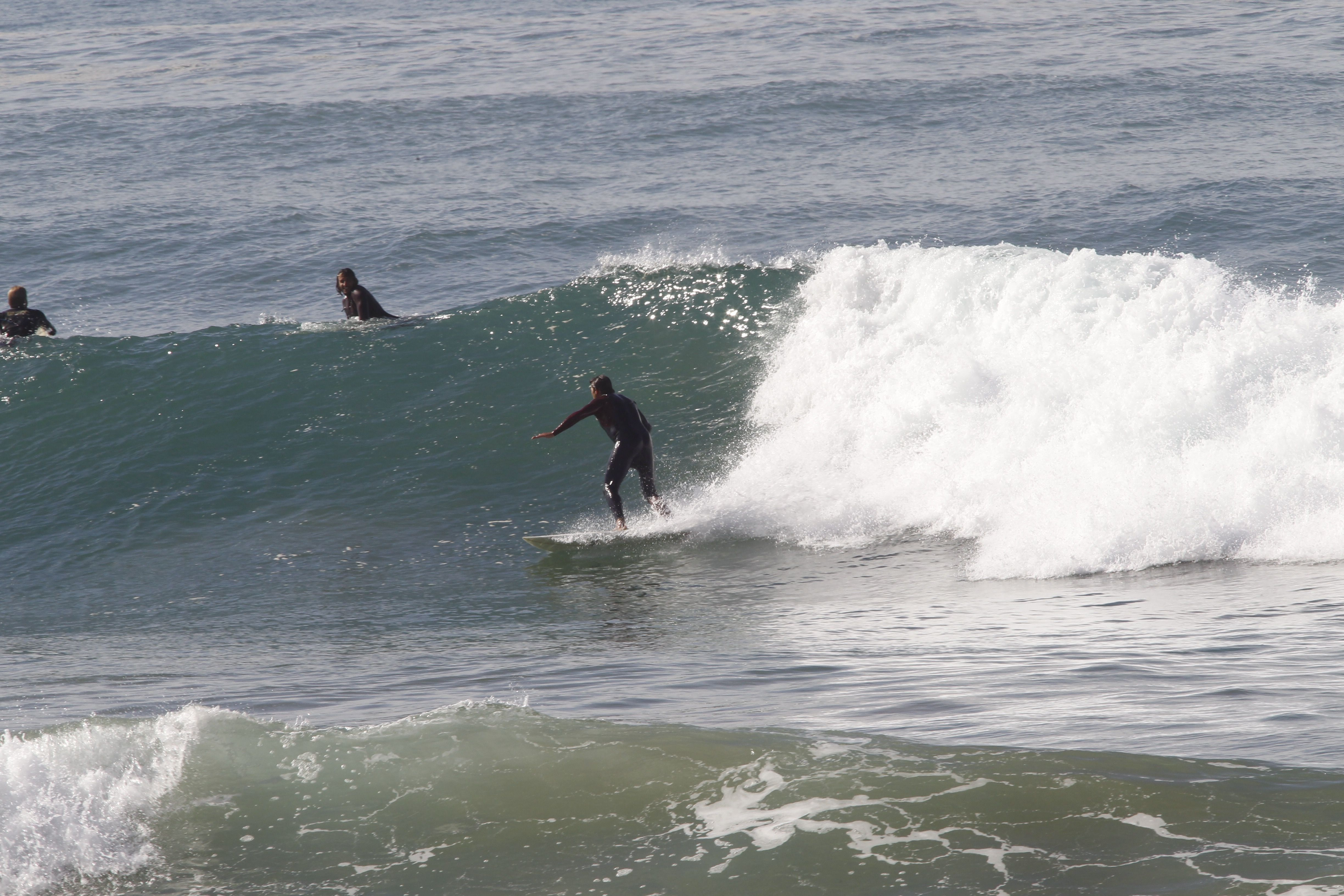 Super stoked! What another great session, with only 3 other guys out! Super vibe in the water. #surfMorocco