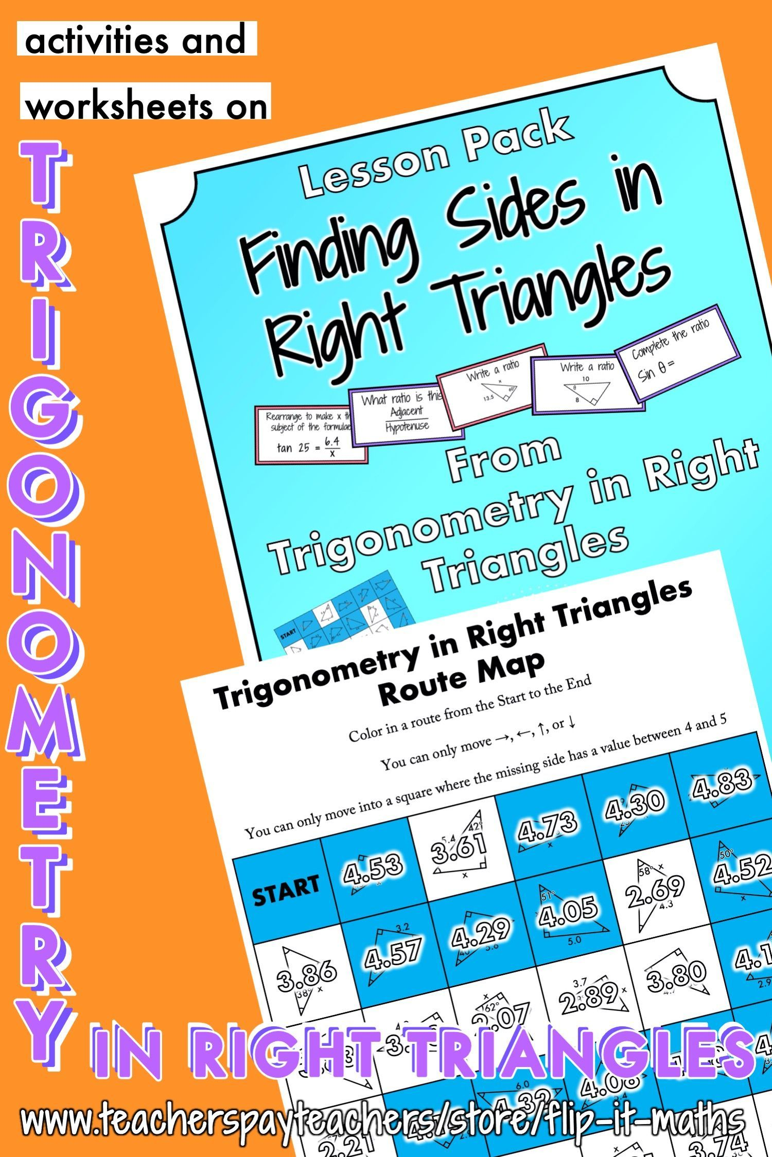 Finding Sides In Right Triangles In