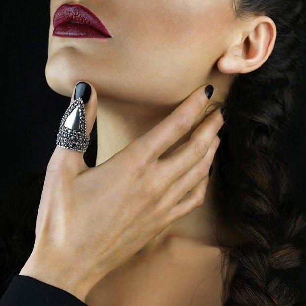 Daumenringe - Frisuren Haare Mehr | Thumb rings, Boho