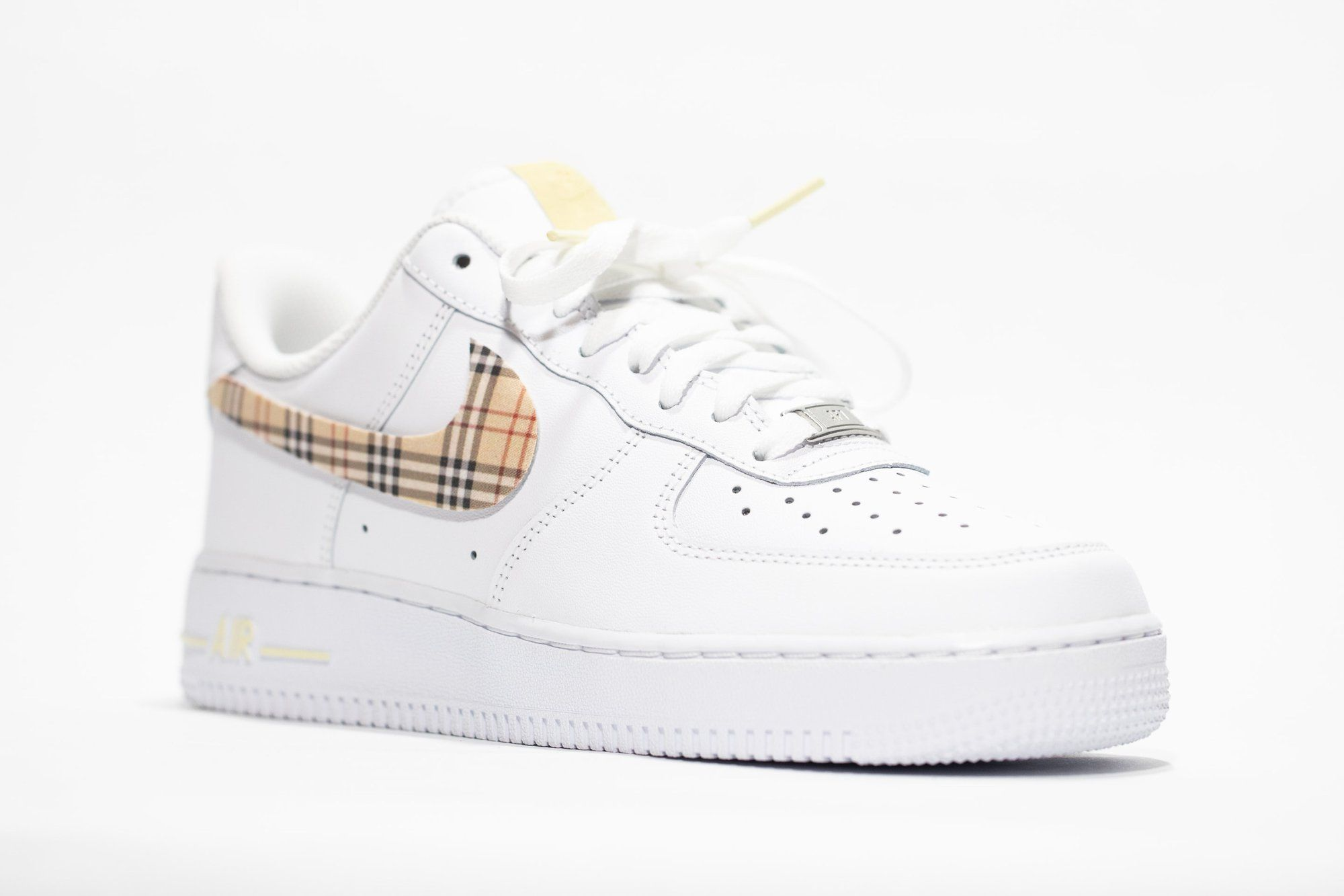Nike Air Force 1 Custom 'Plaid' Old