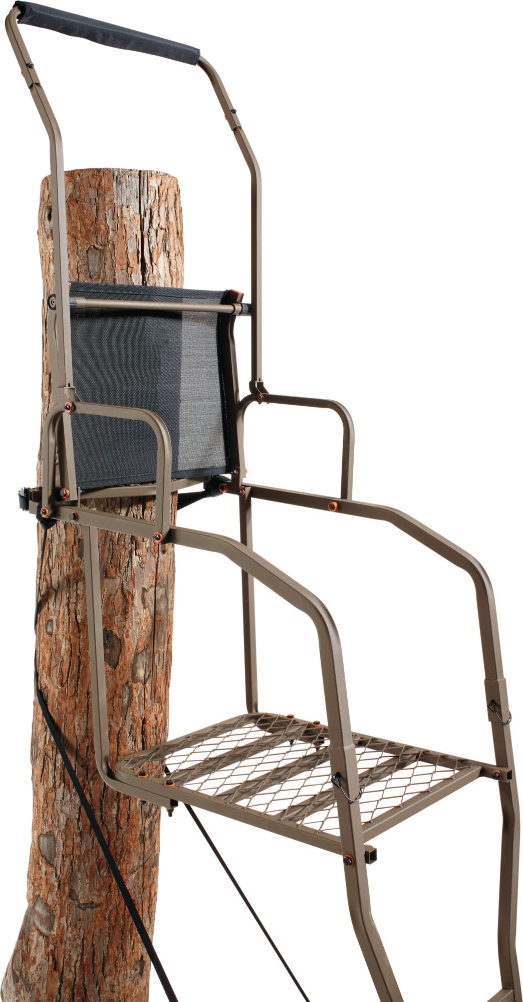 Field & Stream Lookout Deluxe 15' Ladder Stand â Ergo Mesh