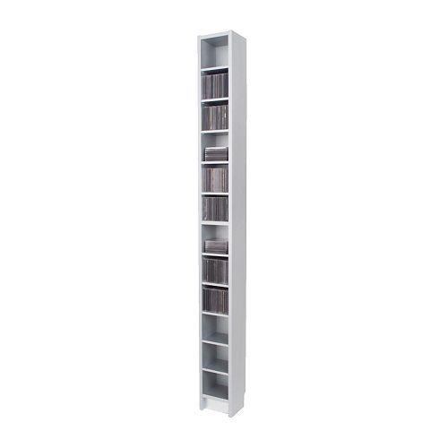 Cd Regal Ikea small space solution narrowest shelf dvd tower shelving and