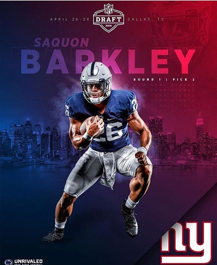 Saquon Barkley Penn state football