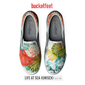 #life at sea #art on shoes