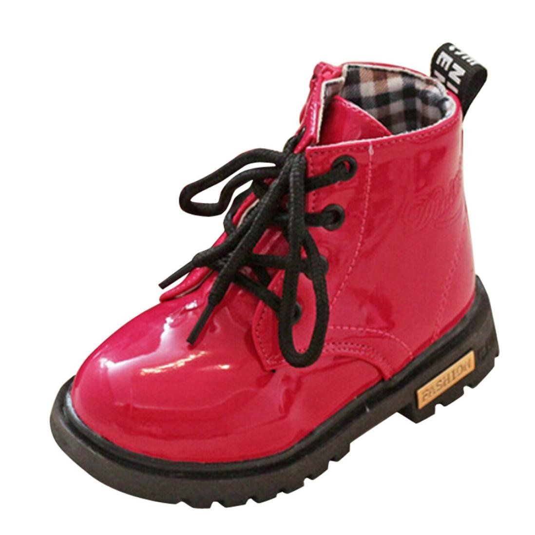 Kids Children Baby Boys Girls Martin Sneaker Winter Thick Snow Casual Shoes