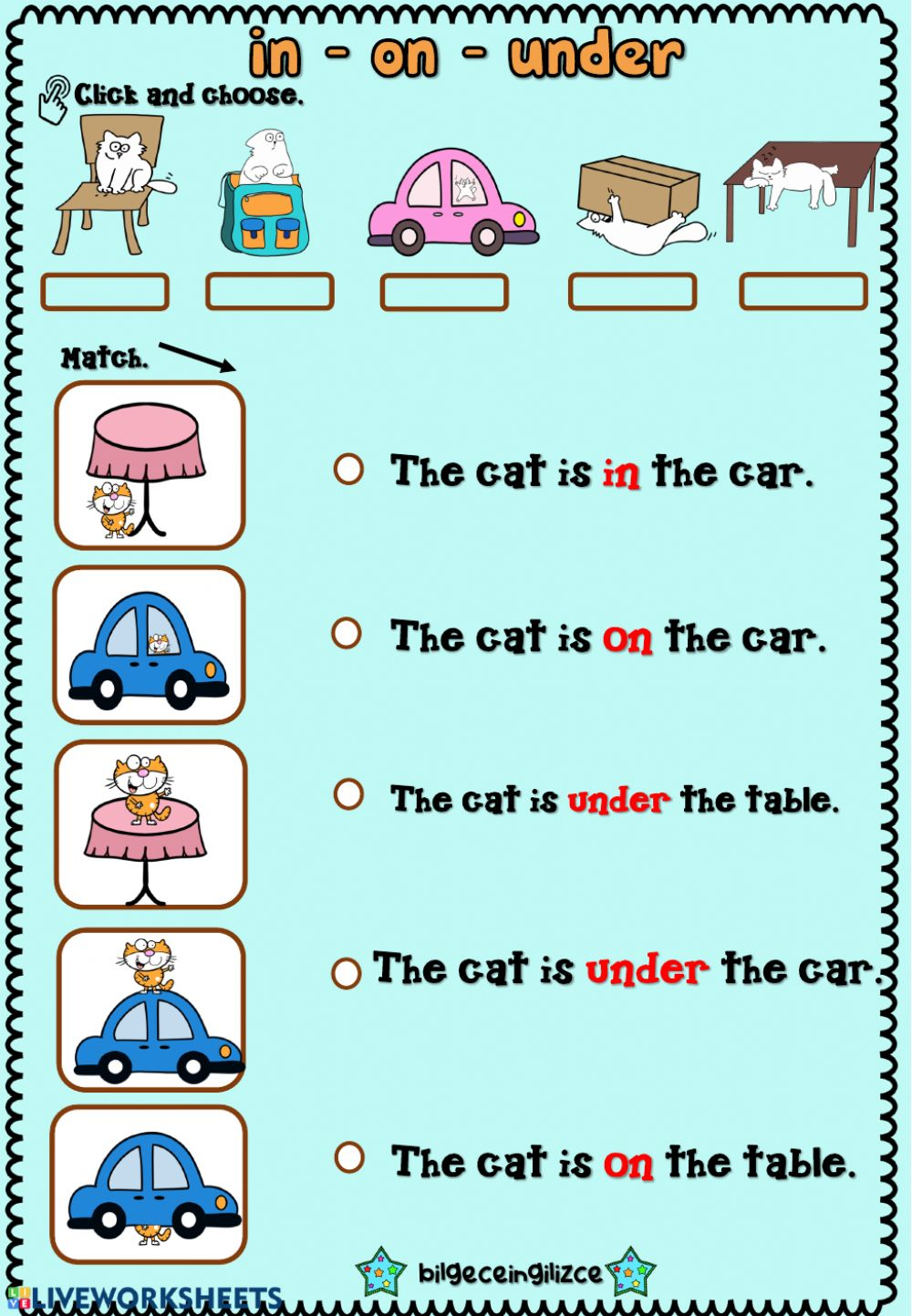 Prepositions Of Place Interactive And Downloadable Worksheet You Can Do The Exercises Preposition Worksheets Kindergarten Preposition Worksheets Prepositions [ 1443 x 1000 Pixel ]