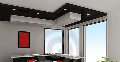 False Ceiling Pop Designs With LED Ceiling Lighting Ideas For Living Room  Part 2 Part 52