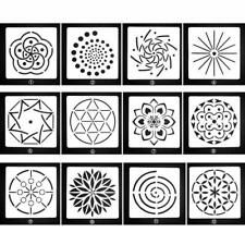 Mandala Stencils Mand Dotting Painting Tool Template for Stone Rock Painting