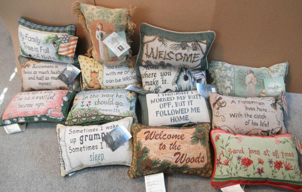 Pillow Pillows 8 5 X 12 5 Willow Tree Retirement Family Children