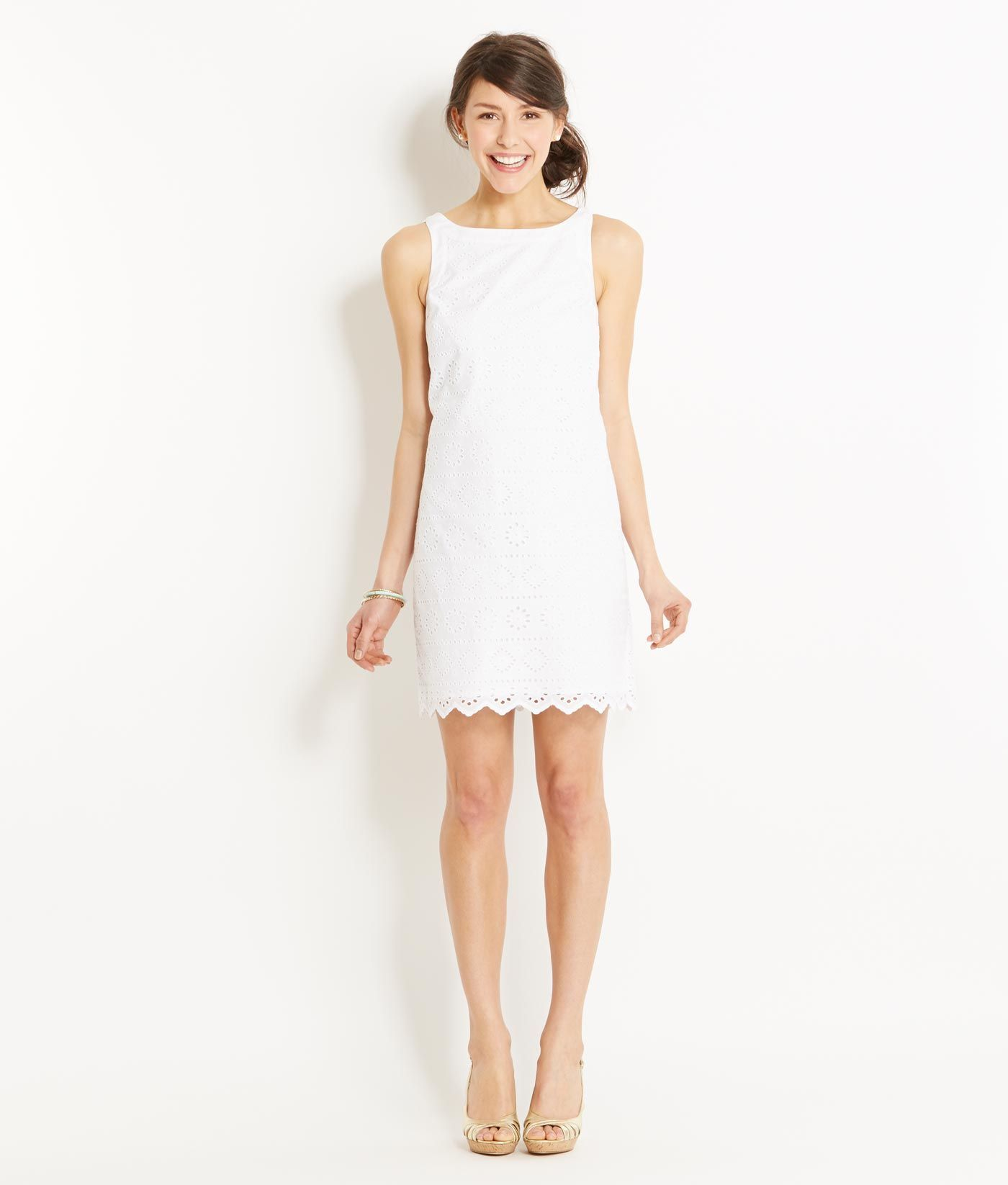 244875528d5 vineyard vines eyelet dress - can I just wear white every day til we get  married