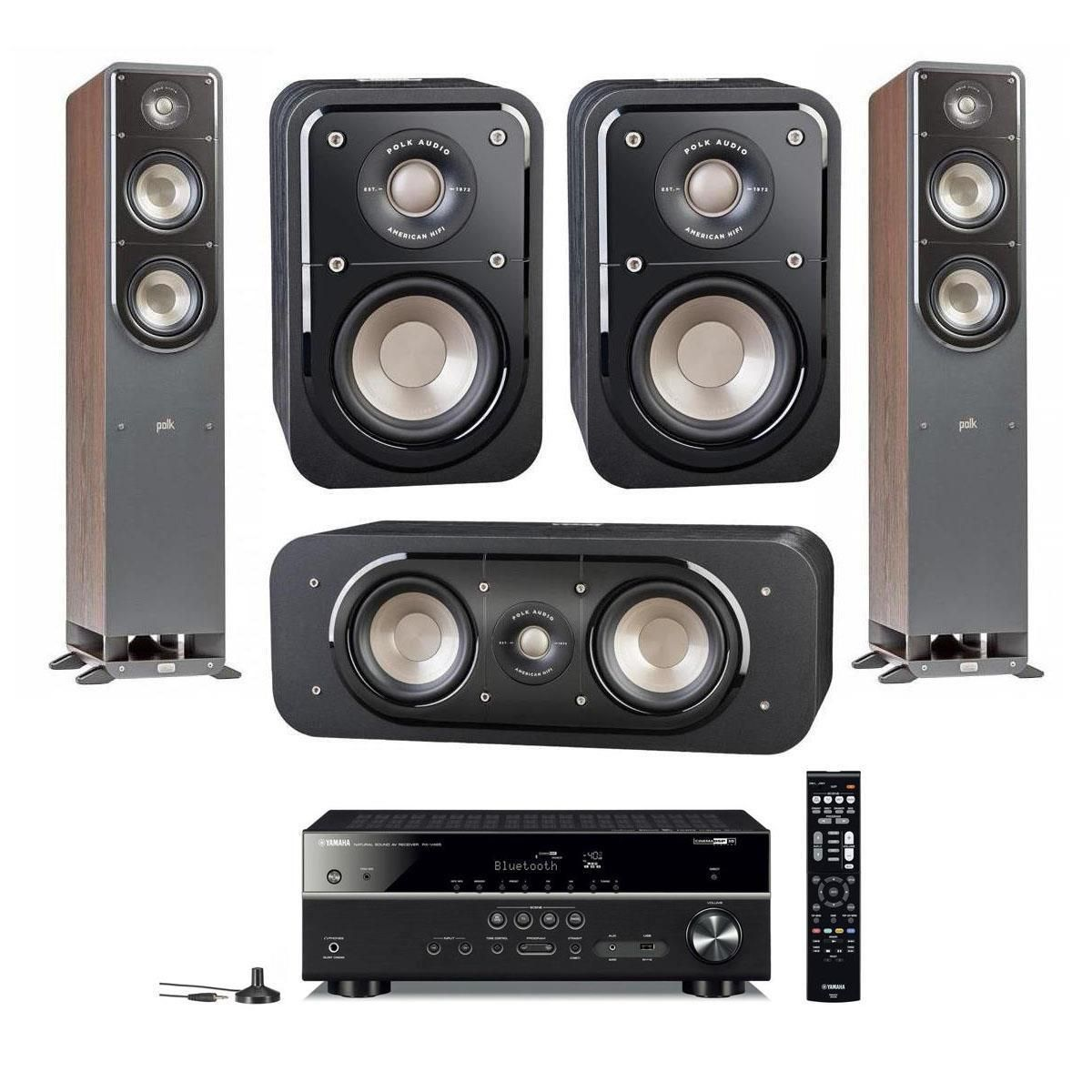 Polk Signature Speakers S50 S30 S10 Yamaha Rx V485 Receiver 780 S60 S30 S20 Yamaha Rx V685 Receiver 1250 More Polk Audio Polk Speaker
