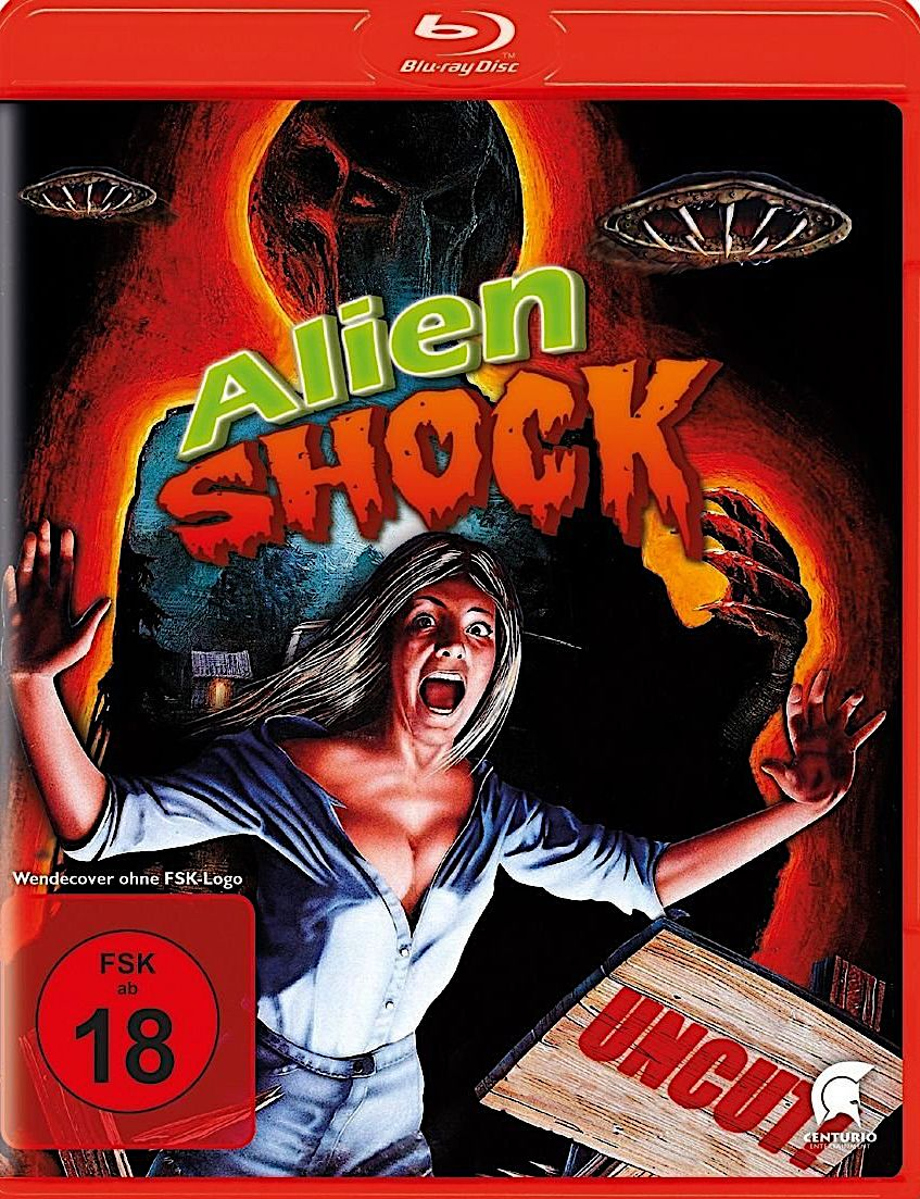 ALIEN SHOCK (AKA WITHOUT WARNING) BLURAY GERMANY (ALIVE