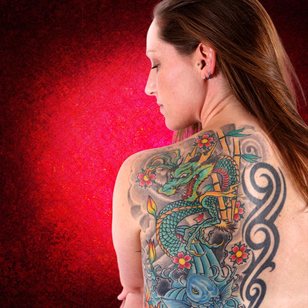 Make best tattoo designs on your photo via iPhone/iPad