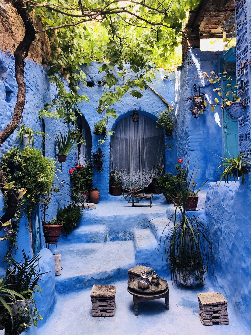 Exploring Chefchaouen because Morocco is more than