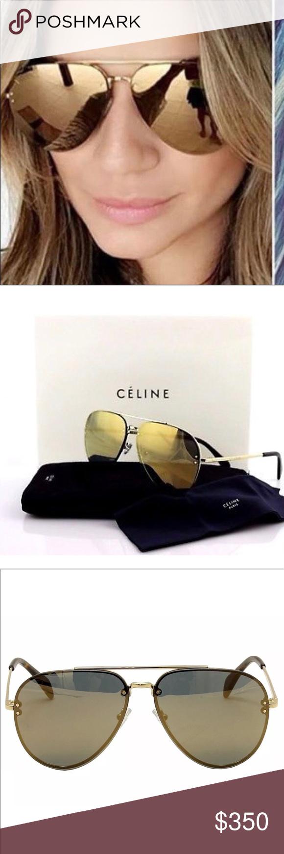 26c736dc46a Brand New Celine Aviator Sunglassez Brand New Celine CL 41391S 41391 S J5G  MV