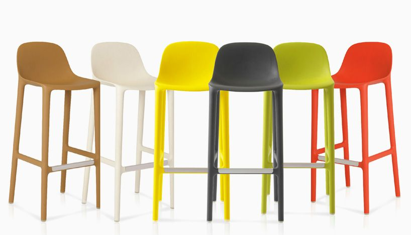 Philippe Starck Extends Broom Collection For Emeco With Stools Bar Stools Emeco Philippe Starck