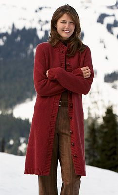 Just found this Sweater Coats - Shetland Wool Sweater Coat ...