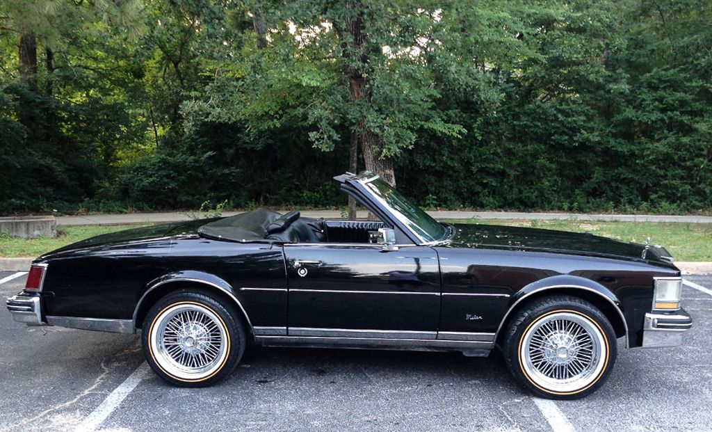 1976 Cadillac Seville Milan Roadster Convertible By Coach Builders Tru Spoke Wire Wheels