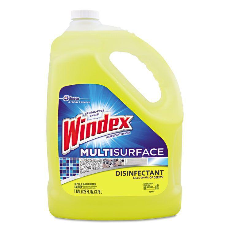 Multi Surface Disinfectant Cleaner Citrus 1 Gal Bottle 4 Carton