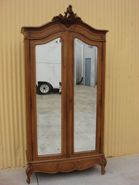 French Antique Furniture French Antique Louis XV Armoire Antique Wardrobe  Closet Cabinet Antique Bedroom Furniture