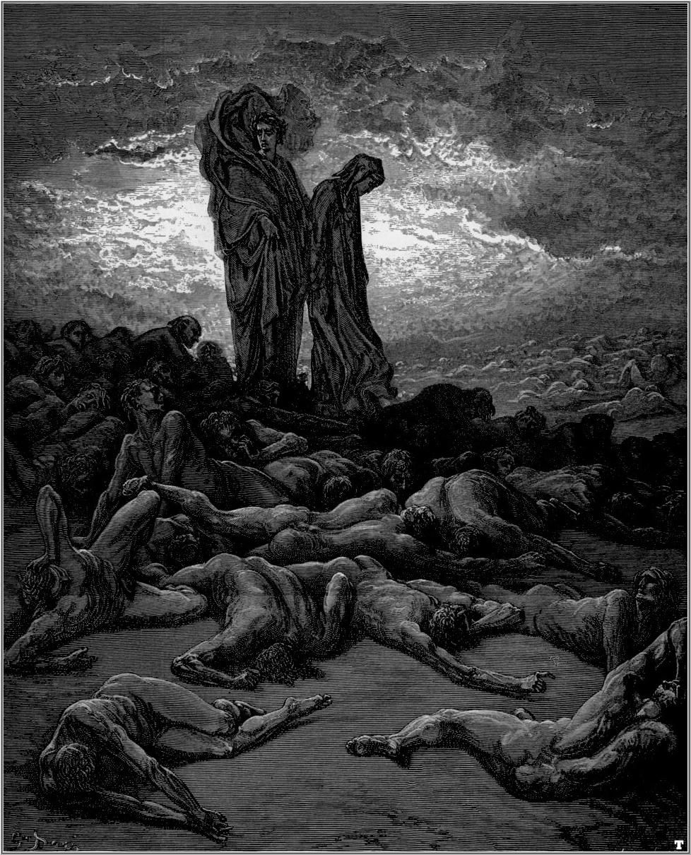 the divine comedy of dante alighieri Introduction dante alighieri's the divine comedy is a famous medieval italian epic poem depicting the realms of the afterlife dante (who was born in 1265) wrote the divine comedy somewhere.