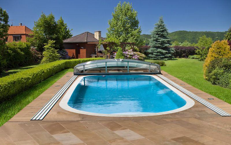 Prelivový bazén ALBISTONE - Ovál