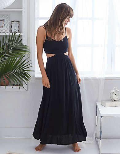 93916a0563d Aerie Cutout Maxi Dress