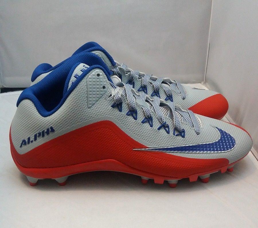 nike alpha blue cleats