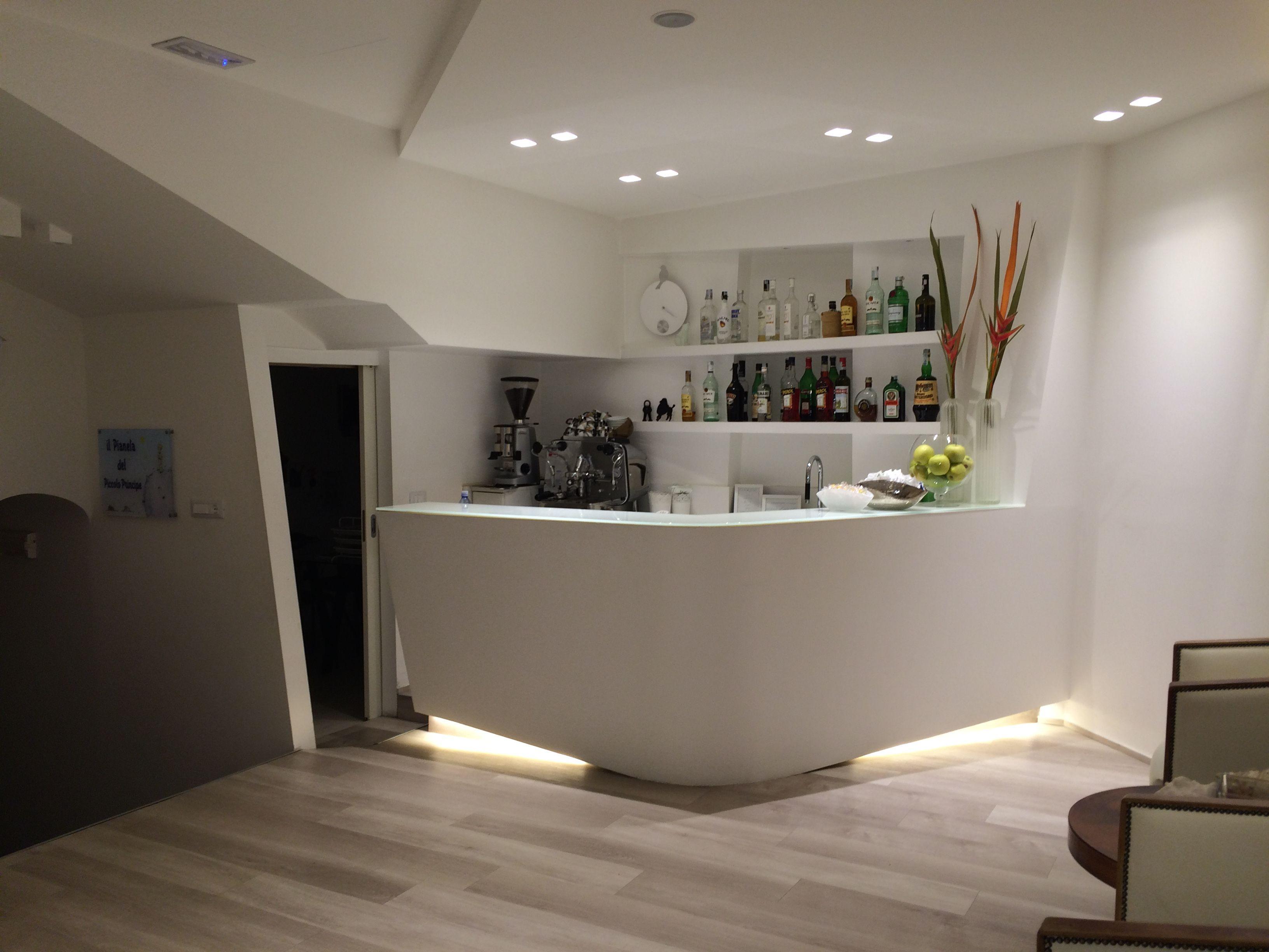 Progetti In Cartongesso Reception Hotel Rimini E Parete In