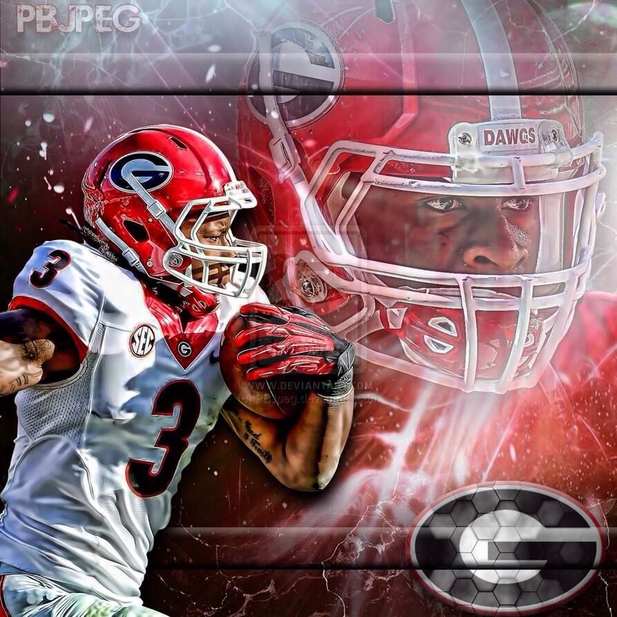 Todd Gurley Best Rb In The Nation Uga Heismanwatch Georgia Bulldogs Uga Bulldogs Football Helmets