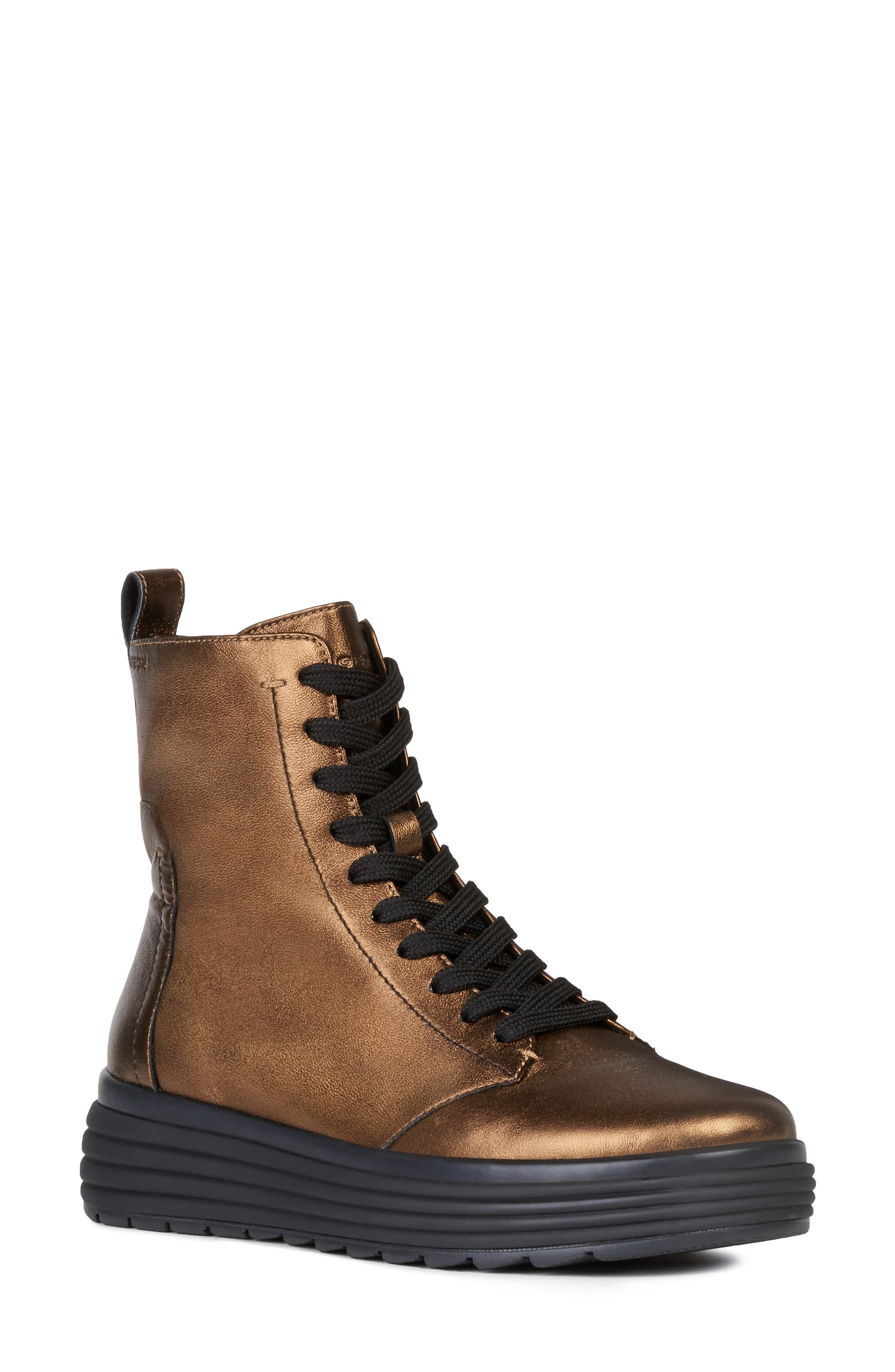 Mus Demonio monitor  Geox Phaolae Boot (Women) | Nordstrom | Boots, Womens boots, Lace up boots