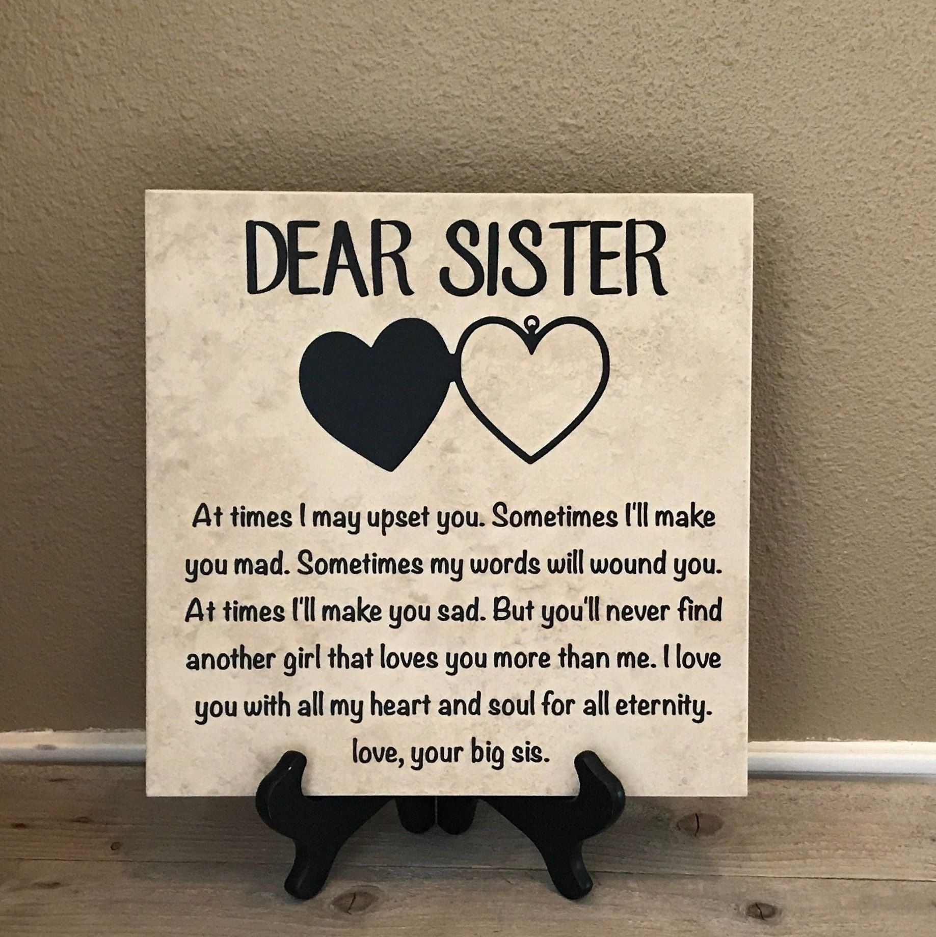Gift for sister birthday gift for sister christmas gift