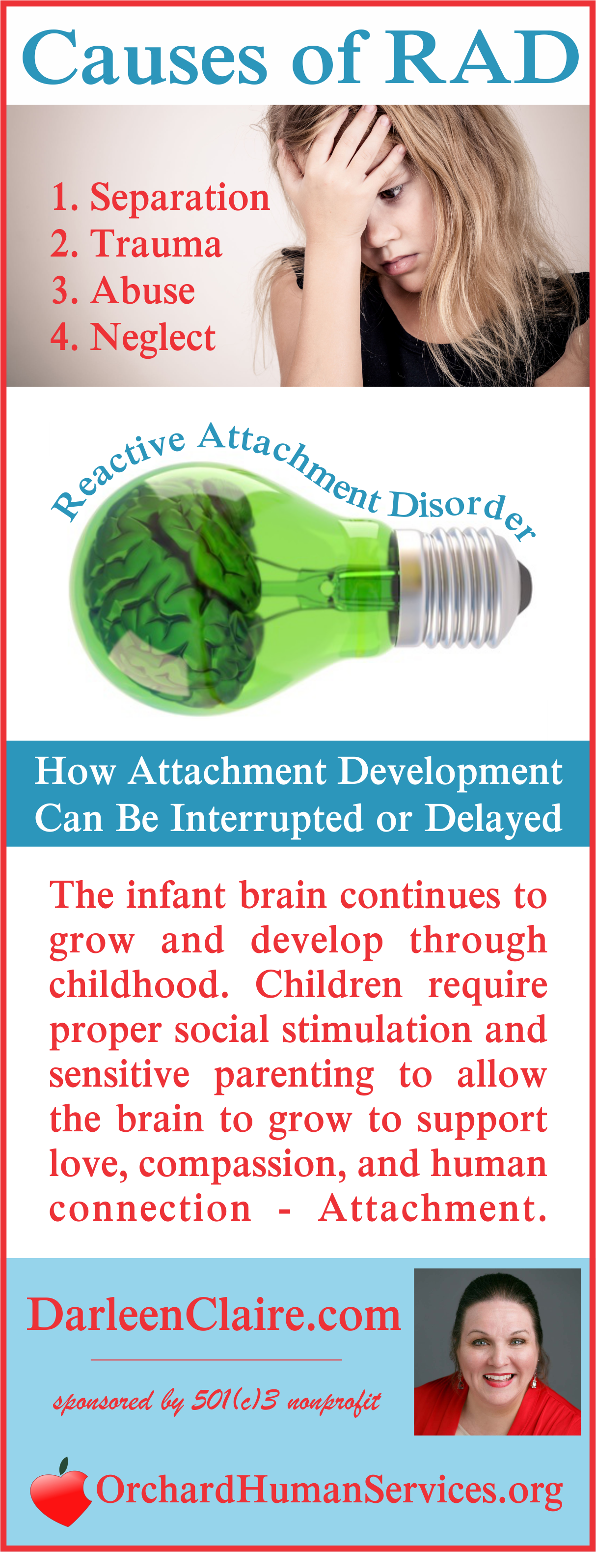 Causes Of Attachment Disorder Rad Dsed