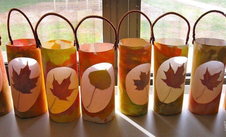 Lanterne en papier à faire soi-même pour accueillir les fêtes dautomne