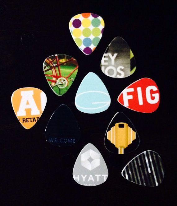 Hotel Key Card Guitar Picks On Etsy 9 00 Hotel Key Cards