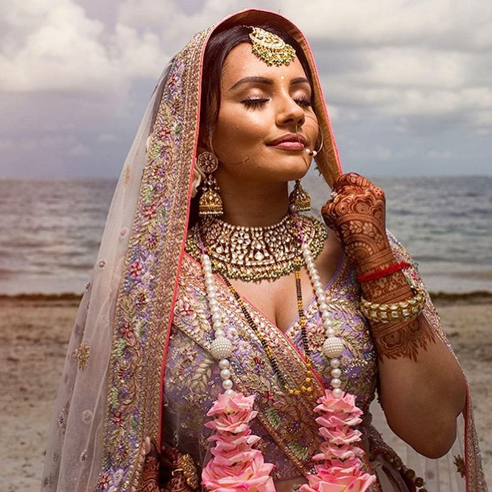 Kaushal Beauty Wedding: This Cancun, Mexico Wedding Of Blogger Bride @kaushal Is