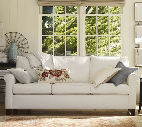 Cameron Roll Arm Upholstered Sofa Rolled Arm Sofa Upholstered