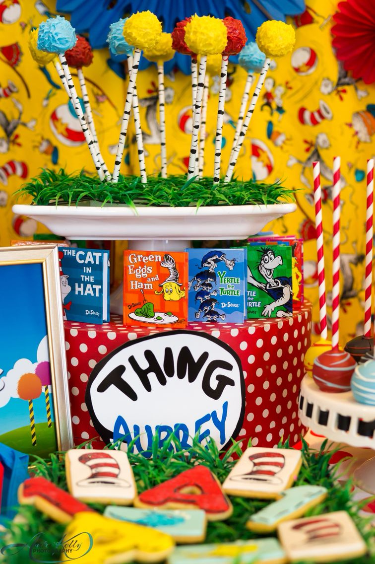 Dr Seuss birthday party by Chloe Cook Events Houston Tx Kids