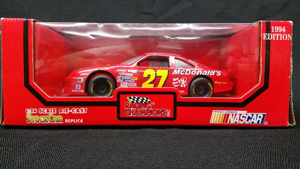 Racing Champions Jimmy Spencer 27 124 Scale Die Cast