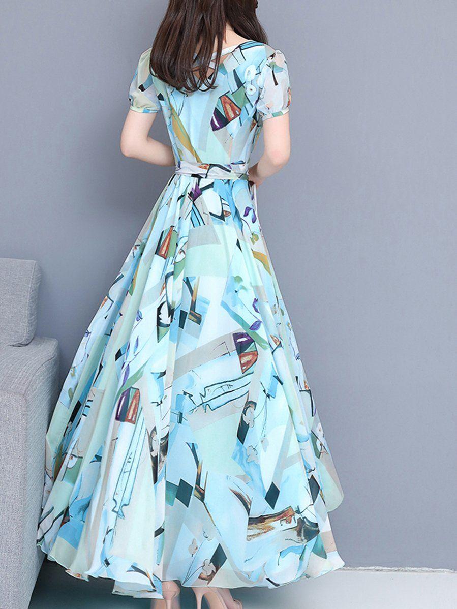 Sweet Heart Print Maxi Dress Prettyrepair Maxi Dress Chiffon Maxi Dress Printed Maxi Dress [ 1198 x 899 Pixel ]
