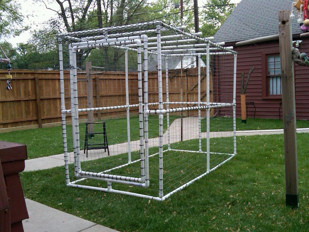 DIY Outdoor Bird Aviary